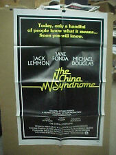 THE CHINA SYNDROME, nr mint orig 1-sht / movie poster [Jack Lemmon, Jane Fonda]