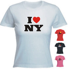 I love(heart) NY New York Ladies Fit New Tshirt