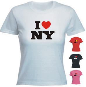 I love(heart) NY New York Ladies Fit New Tshirt