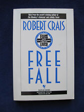 FREE FALL Proof Copy SIGNED by ROBERT CRAIS to Writer WAYNE WARGA