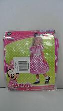 DISNEY Minnie Mouse Girls Medium 8-10 Child Costume w/ears