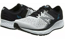 New Balance Men's Fresh Foam 1080v9 Shoes White with Black & Blue Size 11 NEW