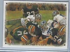 2008 UD Masterpieces Bart Starr!! (Packers) Look!! #6 HOFer!!