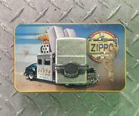 1998 Zippo Lighter HARLEY-DAVIDSON 95th ANNIVERSARY With Tin Box