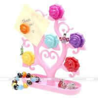 Jewelry Tree Necklace Ring Earring Tree Stand Display Organizer Holder Show Rack
