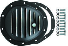 Chevy / GMC 4wd Front 10 Bolt Finned Black Aluminium Differential Cover 1977-91