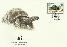 Seychelles Faune Tortue Geante Aldabra Giant Tortoise Riesenschildkröte 1985 Wwf