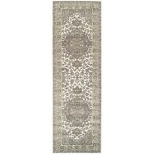 Superior Glendale Collection Green Oriental Design 2.6'x 8' Runner 8mm Pile High