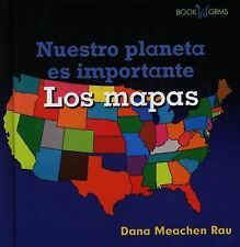 Los Mapas (Bookworms Earth Matters) (Spanish Edition)-ExLibrary