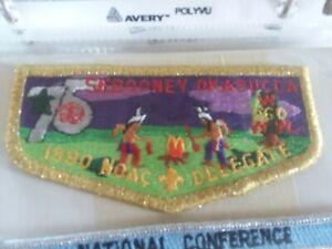 Sebooney Okasucca Lodge 260 1990 NOAC Delegate