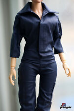 1/6 Uniform Jumpsuit Siamese Clothing Thinny Female Figure Clothes Costume