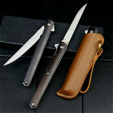 Couteau Pliant Dehong high quality Pointed blade or tanto 9,2cm protect, hunting