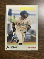 2019 Topps Heritage Minor League Action Photo Variation SSP Jo Adell RC