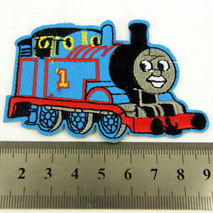 Thomas the Tank Engine Kids  Iron sew on Patch clothes dressmaking applique