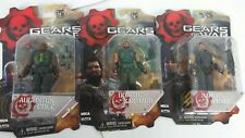 NEW NECA GEAR OF WARS  LOT OF 3 EPIC GAMES 3 3/4 INCHES ACTION FIGURE