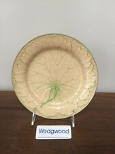 Antique Wedgwood Majolica YELLOW LEAF PLATE c. 1860 (B)