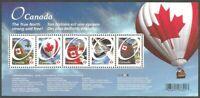 Canada # 2418 Permanent Canadian Pride Balloon MNH ** souvenir sheet
