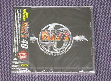 "KISS ""40 YEARS - DECADES OF DECIBELS"" JAPAN 2-CD +1 BNS TRK *SEALED*"