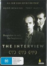 THE INTERVIEW - HUGO WEAVING - AUSSIE CLASSIC - NEW & SEALED DVD