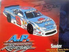 Tim Sauter (estados unidos) - NASCAR desde 2000-Hero-Team mapa 2005 firmado personalmente