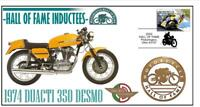 DUCATI MOTORCYCLE HALL OF FAME COV, 1974 350 DESMO