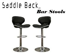 Saddleback Modern Adjustable Swivel Bar Stool (Set of 2)