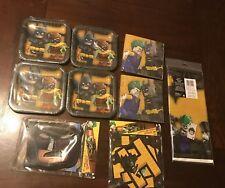 Batman Lego Birthday Party Supplies Kids