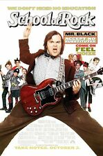 School Of Rock (2003) Original Movie Poster - Rolled