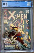 X-MEN #33, CGC 8.5! BEAUTIFUL COPY, LOOKS BETTER THAN GRADE!