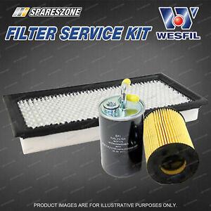 Oil Air Fuel Filter Service Kit for Dodge Caliber PM 2.0L 02/07-07/10