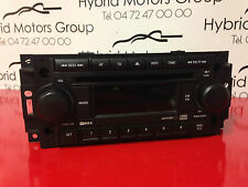 GENUINE CHRYSLER DODGE JEEP RADIO / CD PLAYER 05091509AF