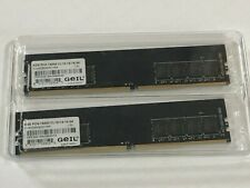 GeIL 2x 4GB DDR4 2400MHz Memory PC4-19200 CL16-16-16-36 GN44GB2400C16S