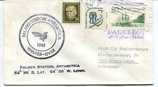 1981  Palmer Station U.S. Antarctic Research Program USA Polar Antarctic Cover