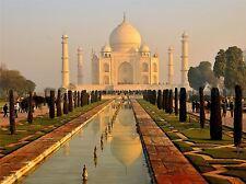 Taj Mahal Misty matin (DAP) photo Art Imprimé Poster Photo bmp518a