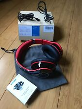 New listing Mpow Bluetooth Headphones Over Ear Hi-Fi Stereo Wireless Foldable Black, Red Vgc