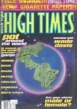HIGH TIMES MAGAZINE Sept. 1997 issue STILL SEALED BAGGED WITH ROLLING PAPERS !!