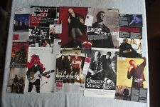 QUEENS OF THE STONE AGE - MAGAZINE CUTTINGS COLLECTION - CLIPPINGS, PHOTOS X38.