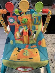 Great Fisher-Price Infant to Toddler Rocker Pink Baby Girls Vibration Seat Chair