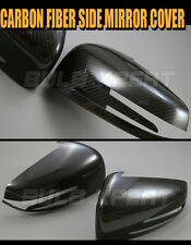 FOR 2010-14 MERCEDES BENZ W204 C63 C250 C350 REAL CARBON FIBER SIDE MIRROR COVER