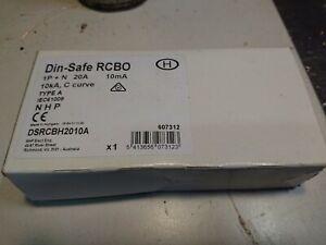 Nhp Din-safe RCBO 20A 10mA