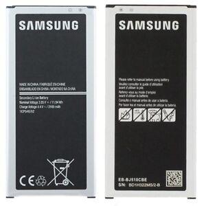 Batteria ORIGINALE Samsung Galaxy J5 2016 J510 SM-J510f 3100mAh EB-BJ510CBE 2020