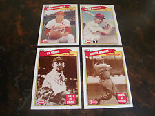 1989 Swell Baseball Greats---Lot Of 4---NrMt