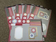 Craft clear out job lot 5 kanban male pub concept card blank topper craft kit