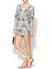 TWELFTH STREET by CYNTHIA VINCENT dentelle Paisley Playsuit Ange Petit