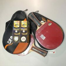 2 x 729 Professional Wood Paddle 7010 with Cover and 3-Star 40+ Balls