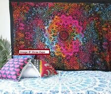 Large tapestry Ethnic Tie-Dye Star Hippie Wall Tapestry Boho Throw Bed Cover
