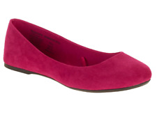 Hot Pink Ballet Flats womens size 9 NWT Shoes