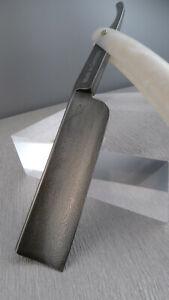 SAMMLERSTÜCK! DAMAST Rasiermesser SOLINGEN 7/8-8/8 straight razor XXI Jh.