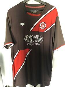 St Pauli Football Shirt 2013 - 2014 XL