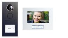 Video Sprechanlage 1/2 Familienhaus ALU Gehäuse in den Farben ALU oder Anthrazit